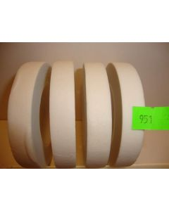 13mm x 27.43m White Floral Tape 12 Reels 951-12