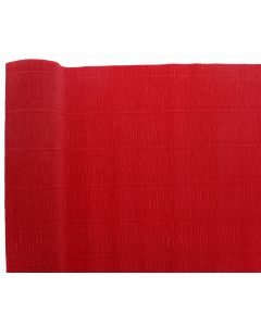 Premium Italian Floristry and Crafts Crepe Paper Roll Red 50cm x 2.5m (311)