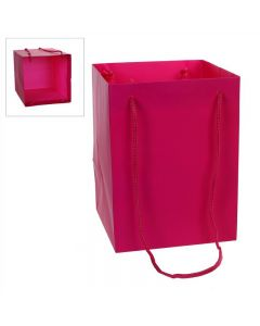 10 Large Porto Bags to Display Hand Tied Flower Bouquets Fuchsia (2800)