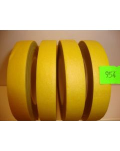 13mm x 27.43m Yellow Florist Floral Tape 1 Reel (954)