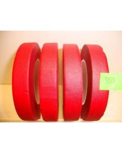 13mm x 27.43m Red Florist Floral Tape 12 Reels (953)