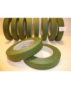 13mm x 27.43m Green Florist Floral Tape 1 Reel (903)