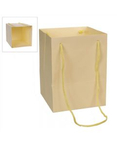 10 Large Porto Bags to Display Hand Tied Flower Bouquets Ivory (2803)