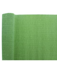 Premium Italian Floristry and Crafts Crepe Paper Roll Olive 50cm x 2.5m (2597)