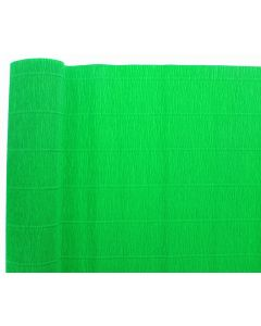 Premium Italian Floristry and Crafts Crepe Paper Roll Green 50cm x 2.5m (310)