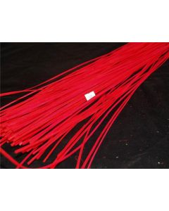 130 x 1m Flat Belt Rattan Twigs Red (2228)